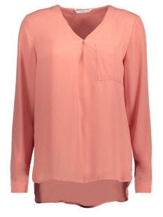 Only Blouse stuBAILEY L/S V-NECK SHIRT 15133054 Rose Dawn