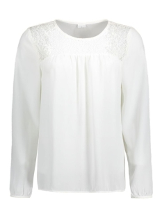 Jacqueline de Yong Blouse JDYTIMBER L/S TOP WVN 15127340 Cloud Dancer