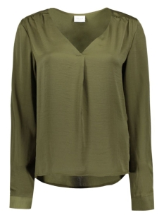 Vila Blouse VIMELLI L/S NEW TOP-NOOS 14036767 Ivy Green