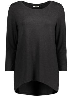 Only T-shirt onlMOSTER MELCOS 3/4 TOP JRS NOOS 15123342 Black
