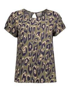 Vero Moda T-shirt VMROWENA S/S TOP NFS 10178646 Ivy Green