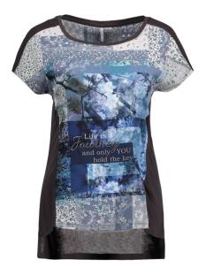 Only T-shirt onlPHOTO S/S. TOP BOX JRS 15129585 Phantom/Favour Tex