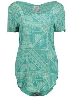 Vero Moda T-shirt VMLUA INDIE SS TOP BOX DNM JRS 10166302 Tidepool