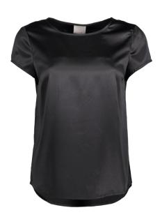 Vero Moda T-shirt VMIVALU SATIN CAPSLEEVE MIDI TOP 10165965 Black/Solid