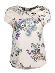 Vero Moda T-shirt VMIVALU SATIN CAPSLEEVE MIDI TOP 10165965 Pink Tint