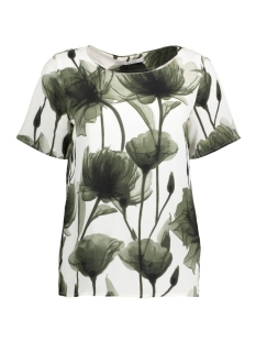 Vila T-shirt VIYASMINA S/S TOP 14039390 Wind Chime/2nd Print