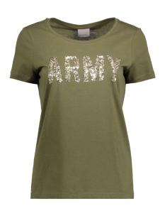 Vero Moda T-shirt VMARMY PRINT S/S T-SHIRT NFS 10179346 Ivy Green