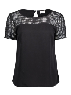 Vila T-shirt VISOMMI S/S TOP - NOOS 14039646 Black