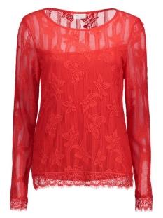 Vila T-shirt VIKAGI L/S TOP 14041777 Flame Scarlet