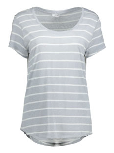 JDYCOAST S/S STRIPE TOP JRS 15127261 Pearl Blue/Cloud Danc