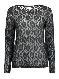 Vila T-shirt VIJALIE L/S TOP 14041700 Black