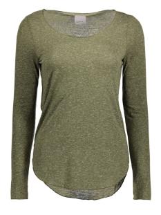 Vero Moda T-shirt VMLUA LS TOP NOOS 10158658 Ivy Green