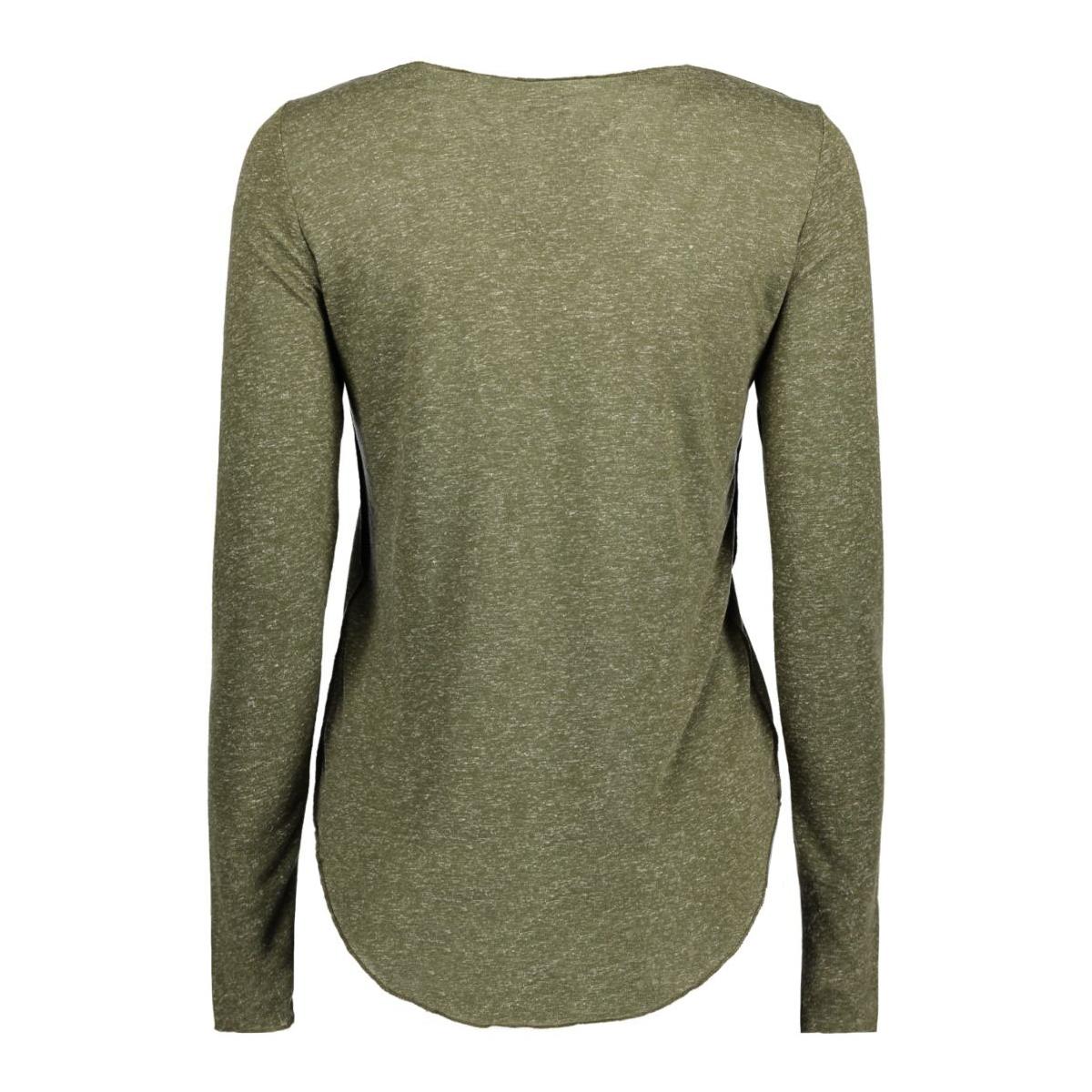 vmlua ls top noos 10158658 vero moda t-shirt ivy green