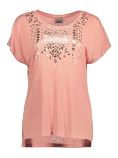 Vero Moda T-shirt VMKIM S/S TOP BOX JRS 10167249 Dusty Coral