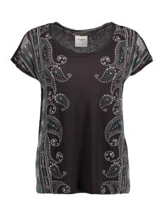 Vero Moda T-shirt VMKRISTA NIGELA SS TOP BOX DNM JRS 10166325 Black