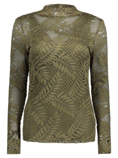 Vila T-shirt VILACA L/S TOP 14040650 Ivy Green