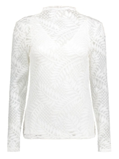 Vila T-shirt VILACA L/S TOP 14040650 Cloud Dancer