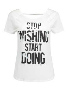 Only Play Sport shirt onpCOSIMO SS TRAINING TEE 15125274 White