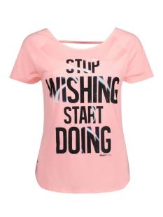 Only Play Sport shirt onpCOSIMO SS TRAINING TEE 15125274 Lollipop pink