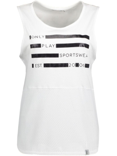 Only Play Sport top onpDELFINE TANK TOP 15124867 White