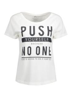 Only Play Sport shirt onpHENNA REGULAR SS TEE 15124779 White/Grey