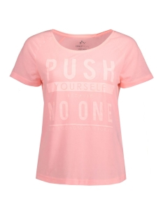 Only Play Sport shirt onpHENNA REGULAR SS TEE 15124779 Lollipop Pink