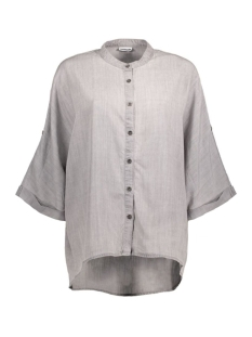 NMALEX SS BOX SHIRT 10177422 Medium Grey Denim