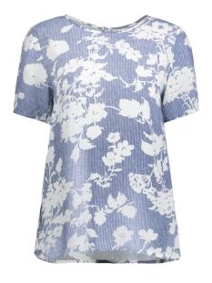 Vila T-shirt VITILAS S/S TOP 14040140 Estate Blue