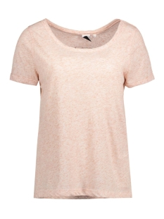 Object T-shirt OBJHERMINE MARIE S/S TOP BOX 23023912 Misty Rose