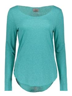 Vero Moda T-shirt VMLUA LS TOP NOOS 10158658 Viridian Green