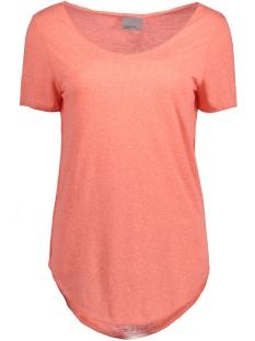 Vero Moda T-shirt VMLUA SS TOP NOOS 10149900 Georgia Peach