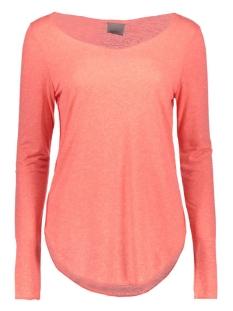Vero Moda T-shirt VMLUA LS TOP NOOS 10158658 Georgia Peach