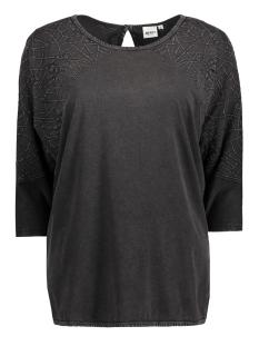 Object T-shirt OBJSIA 3/4 TOP 89 23023939 Asphalt