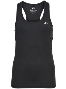 Only Play Sport top onpCLAIRE PLAIN SL TRAINING  TOP 15103788 Black