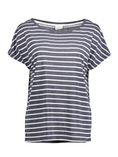 Vila T-shirt VIBETTA STRIPE TOP 14039950 Total Eclipse