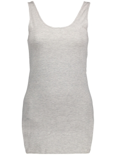 Vero Moda Top VMMAXI MY SOFT UU LONG TANK TOP NOOS 10147661 Light grey melange