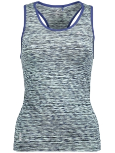Only Play Sport top onpDEBRA SEAMLESS  TANK TOP 15124738 Clearwater/Blue Depth