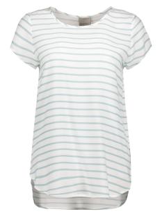Vero Moda T-shirt VMBOCA SS BLOUSE PRINTED 10128072 Blue Surf