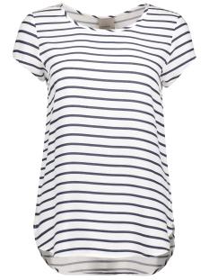Vero Moda T-shirt VMBOCA SS BLOUSE PRINTED 10128072 Black Iris