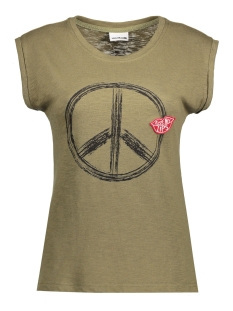 Noisy may T-shirt NMPEACE S/S TOP 10177638 Ivy green