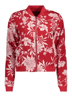 Only Jas onlFLOUR BOMBER L/S WVN 15136695 Tango Red