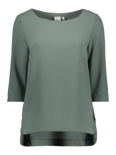 Object T-shirt OBJCORLEE 3/4 TOP NOOS 23024282 Balsam Green
