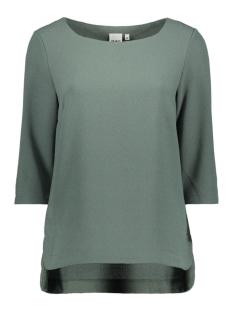 Object T-shirt OBJCORLEE 3/4 TOP NOOS 23024282 Balsam Green