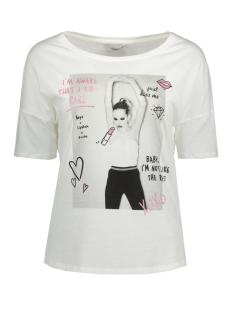 Only T-shirt onlDAKOTA 2/4 DANCE/GIRL TOP BOX ES 15133259 Cloud dancer/girl