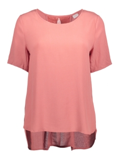 Vila T-shirt VISOLOT S/S TOP GV 14039095 Rose Dawn
