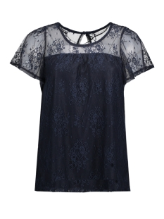 Vila T-shirt VISILLAN S/S TOP 14039624 Total Eclipse