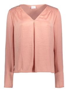 VIRUSTIC L/S SEQUINS TOP 14039220 Rose Dawn