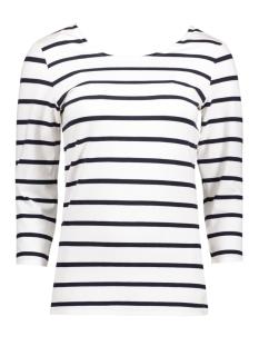 Object T-shirt OBJELONA WRAP 3/4 TOP NOOS 23023663 White