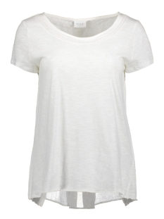 Vila T-shirt VIFERMA S/S TOP GV 14040002 Cloud Dancer