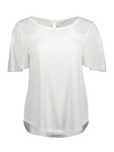 Vila T-shirt VIEMMIE S/S TOP 14040003 Cloud Dancer